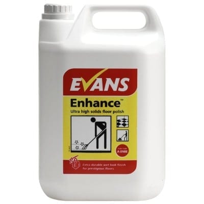 Evans - ENHANCE Ultra Solids Floor Polish - 5 litre