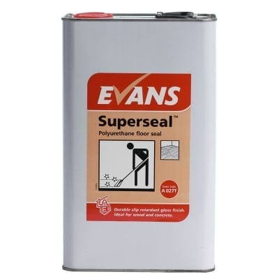 Evans - SUPERSEAL Polyurethane Floor Seal - 5 litre