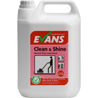 Evans - CLEAN & SHINE Floor Maintainer - 5 litre