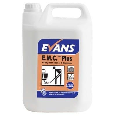 Evans - E.M.C. Plus Floor Cleaner & Degreaser - 5 litre