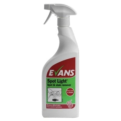 Evans - SPOT LIGHT Stain Remover - 750ml Trigger