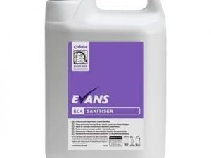 Evans - EC4 SANITISER - 5 litre
