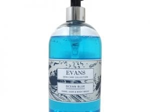 Evans - OCEAN BLUE Hand Wash - 500ml scented