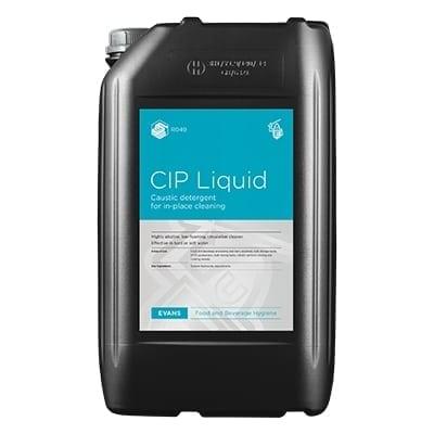 Evans - CIP Caustic Based Liquid Detergent - 25 litre