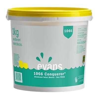 Evans - 1066 CONQUERER Toilet Blocks - 3kg Tub
