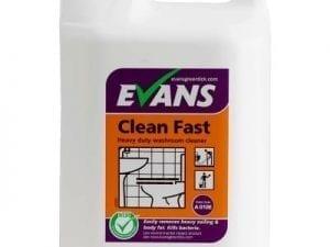 Evans - CLEAN FAST Washroom Cleaner - 5 litre
