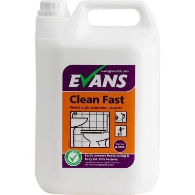 Evans - CLEAN FAST Washroom Cleaner - 5 litre
