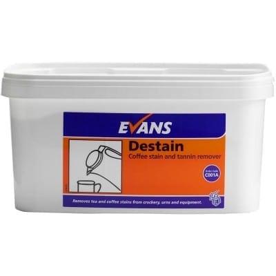 Evans - DESTAIN Coffee Stain & Tannin Remover - 5kg