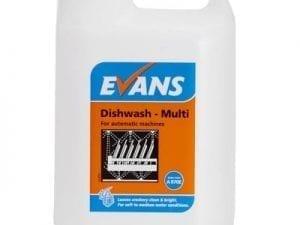 Evans - DISH WASH MULTI - 5 litre