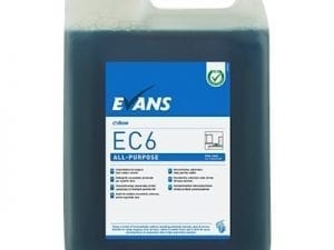 Evans - EC6 ALL PURPOSE Hard Surface Cleaner - 5 litre