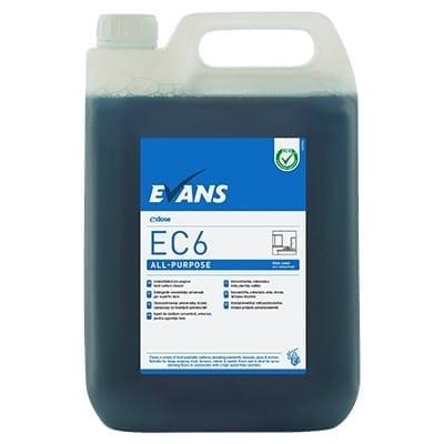 Evans - EC6 ALL PURPOSE Hard Surface Cleaner - 5 litre