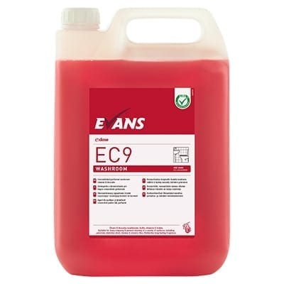 Evans - EC9 WASHROOM Cleaner & Descaler - 5 litre
