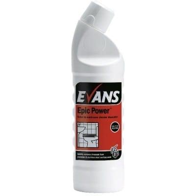 Evans - EPIC POWER Toilet Cleaner & Descaler - 1 litre