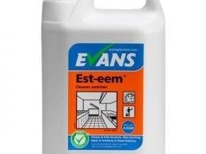 Evans - EST-EEM Cleaner & Sanitiser - 5 litre