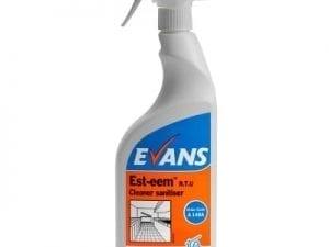 Evans - EST-EEM Cleaner & Sanitiser - 6 x 750ml Trigger