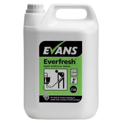 EVERFRESH Apple Toilet Cleaner 5 litre evans vanodine