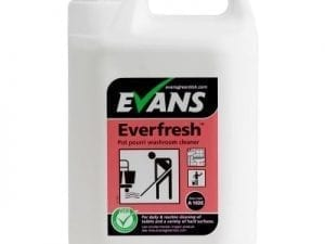 Evans - EVERFRESH POT POURRI Toilet & Hard Surface Cleaner - 5 litre