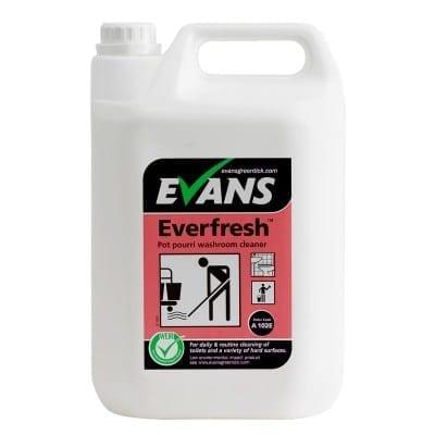 Evans - EVERFRESH POT POURRI Toilet & Hard Surface Cleaner - 5 litre