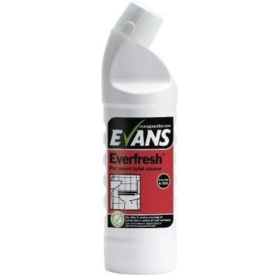 Evans - EVERFRESH Pot Pourri Toilet Cleaner - 1 litre