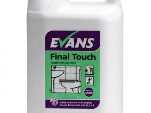 Evans - FINAL TOUCH Washroom Sanitiser - 5 litre