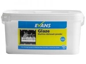 Evans - GLAZE Machine Dishwashing Powder - 5kg
