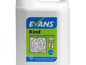 Evans - KIND Washing Up Liquid - 5 litre
