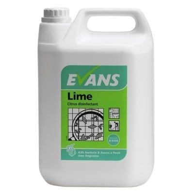Evans - LIME CITRUS DISINFECTANT - 5 litre