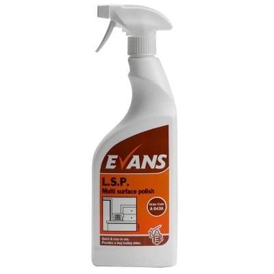 Evans - L.S.P. Multi Purpose Spray Polish - 750ml