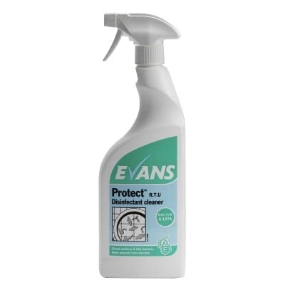 Evans - PROTECT Disinfectant Cleaner - 6 x 750ml