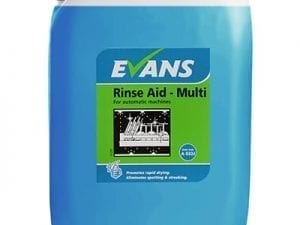 Evans - RINSE AID MULTI - 20 litre