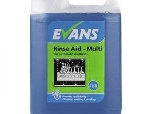 Evans - RINSE AID MULTI - 5 litre