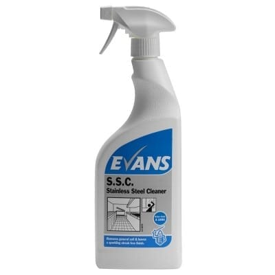 Evans - S.S.C. Stainless Steel Cleaner - 750ml Trigger