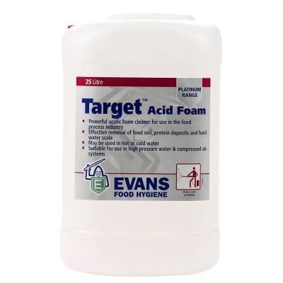 Evans - TARGET Acid Foam - 25 litre