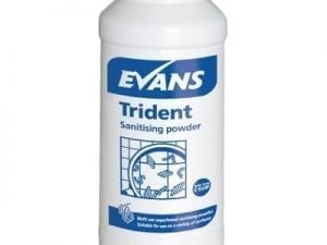 Evans - TRIDENT Blue Multi Purpose Sanitising Powder - 500g