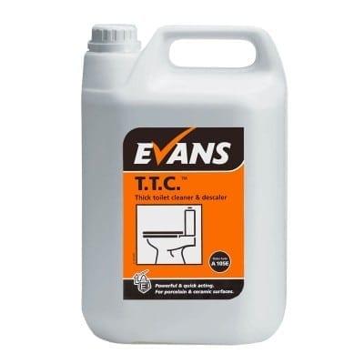 Evans - T.T.C. Thick Toilet Cleaner - 5 litre