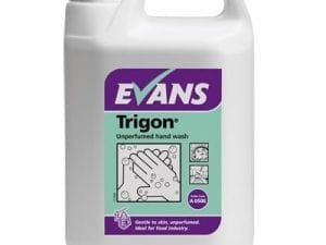 Evans - TRIGON Unperfumed Hand Wash - 5 litre