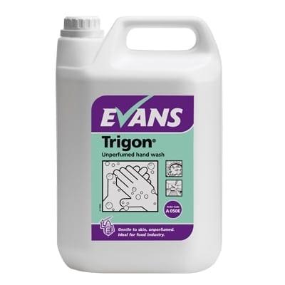 Evans - TRIGON Unperfumed Hand Wash - 5 litre