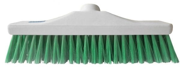 "Hygiene Brush Head 12"" - Soft Bristle - Green"