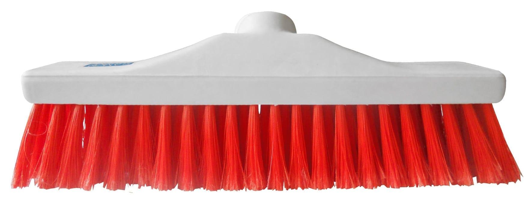 "Hygiene Brush Head 12"" - Soft Bristle - Red"