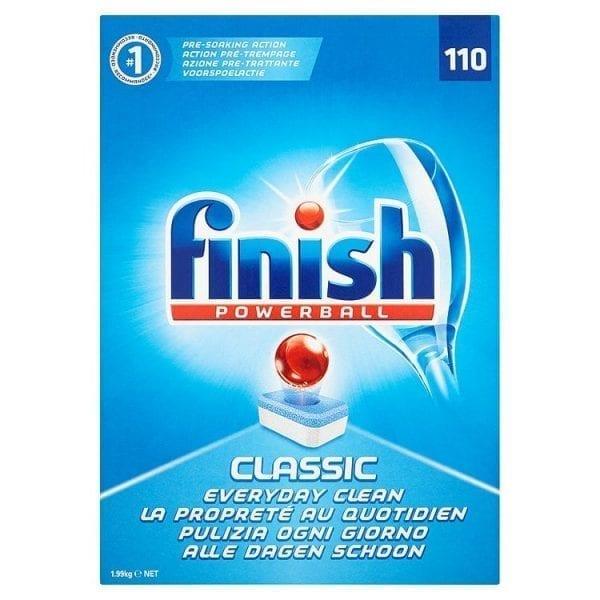 Finish Powerball Finish Powerball Classic Dishwasher Tabs - Box 110