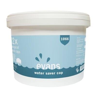 Evans - 1066 WATER SAVER CAP - Tub of 12