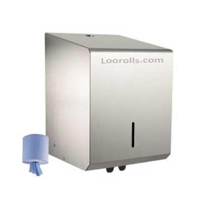 Dispenser - Stainless Steel Centrefeed -0