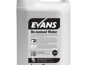 Evans - DE-IONISED WATER - 5 litre