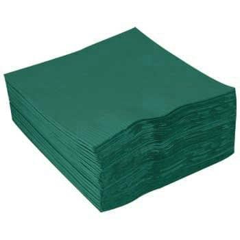 Loorolls.com Forest green Napkins 40cm 2ply