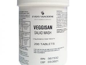 Evans - VEGGISAN Disinfection Tablets - Tub 200
