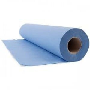 Loorolls Hygiene Couch Rolls Blue 3ply Extra Thick