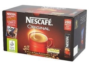 Nescafe Original Coffee Sticks - Box 200