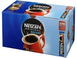 Nescafe Decaff Coffee Sticks - Box 200