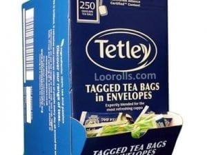 Tetley Enveloped Tea Bags from Loorolls.com
