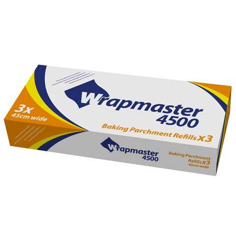 Loorolls.com Wrapmaster Parchment Paper 450mm x 50m - 3 rolls per box